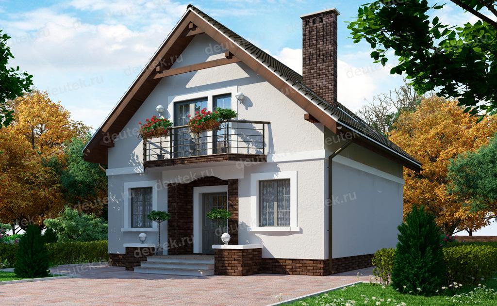Проект 15-88 дома из сип панели от 150 до 200 кв м.